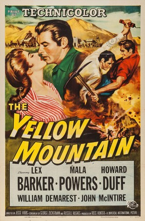 The Yellow Mountain - Movie Poster (thumbnail)