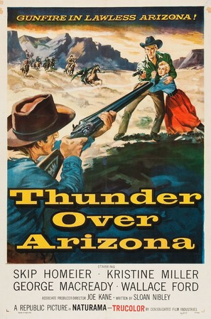 Thunder Over Arizona - Movie Poster (thumbnail)