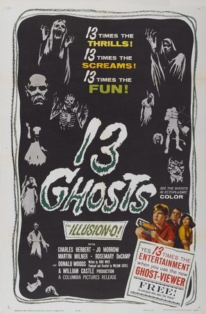 13 Ghosts - Movie Poster (thumbnail)