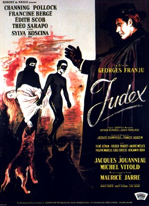 Judex - French Movie Poster (thumbnail)