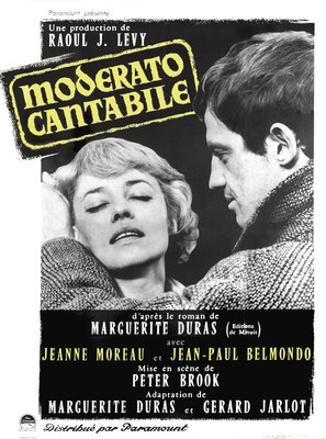 Moderato cantabile - French Movie Poster (thumbnail)