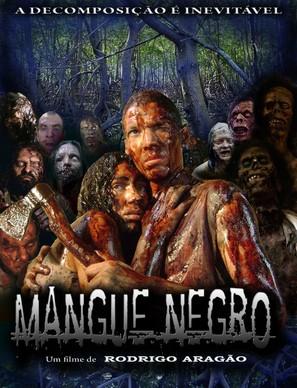 Mangue Negro - Brazilian Movie Poster (thumbnail)