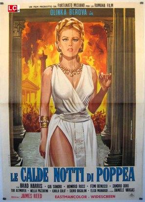 Le calde notti di Poppea - Italian Movie Poster (thumbnail)