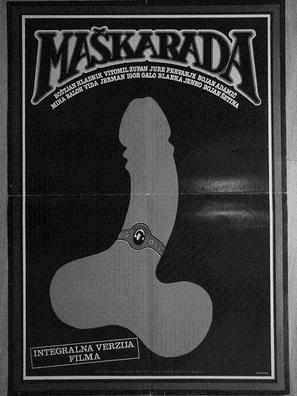 Maskarada - Yugoslav Movie Poster (thumbnail)