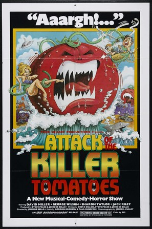Attack of the Killer Tomatoes! - Theatrical movie poster (thumbnail)