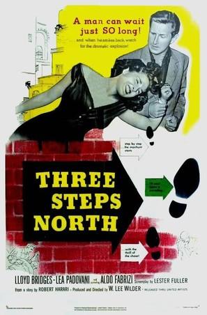 Three Steps North - Movie Poster (thumbnail)