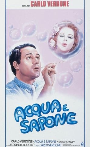 Acqua e sapone - Italian Theatrical poster (thumbnail)