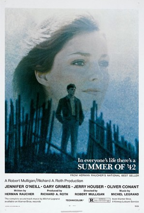 Summer of '42 - Theatrical poster (thumbnail)