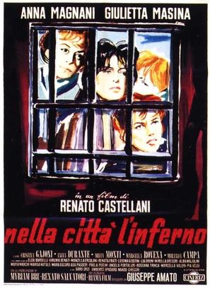 Nella città l'inferno - Italian Theatrical movie poster (thumbnail)