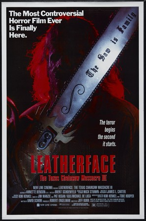 Leatherface: Texas Chainsaw Massacre III - Movie Poster (thumbnail)