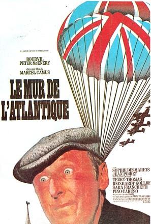 Le mur de l'Atlantique - French Movie Poster (thumbnail)