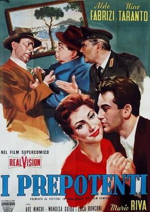 I prepotenti - Italian Movie Poster (thumbnail)