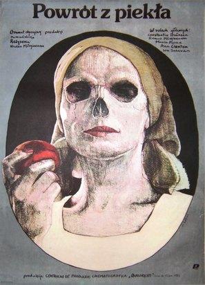 Intoarcerea din iad - Polish Movie Poster (thumbnail)