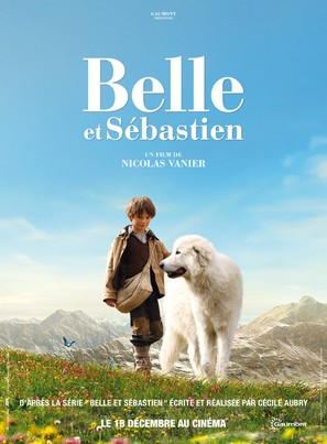 Belle et Sébastien - French Movie Poster (thumbnail)