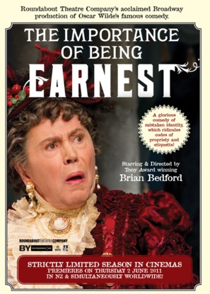 The Importance of Being Earnest - New Zealand Movie Poster (thumbnail)