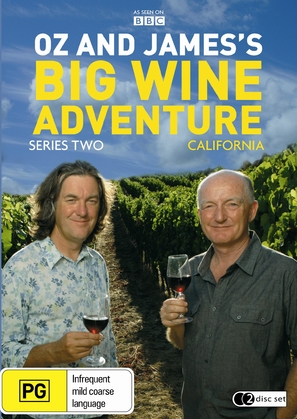 """Oz & James's Big Wine Adventure"" - Australian Movie Cover (thumbnail)"