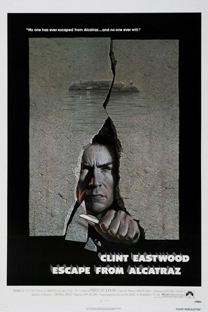 Escape From Alcatraz - Movie Poster (thumbnail)