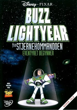 """Buzz Lightyear of Star Command"" - Norwegian DVD movie cover (thumbnail)"