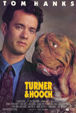 Turner And Hooch - Movie Poster (thumbnail)