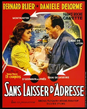 ...Sans laisser d'adresse - French Movie Poster (thumbnail)