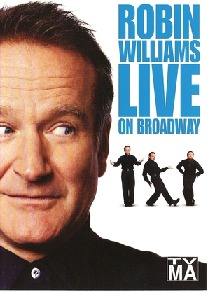 Robin Williams: Live on Broadway - DVD cover (thumbnail)