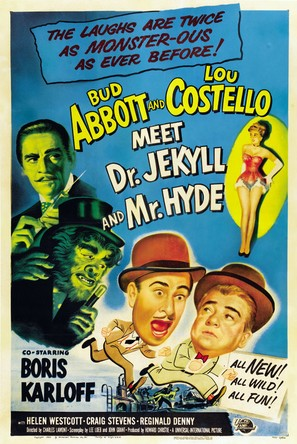 Abbott and Costello Meet Dr. Jekyll and Mr. Hyde - Movie Poster (thumbnail)