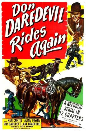 Don Daredevil Rides Again - Movie Poster (thumbnail)