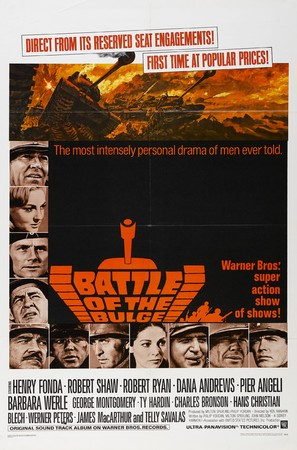 Battle of the Bulge - Theatrical poster (thumbnail)