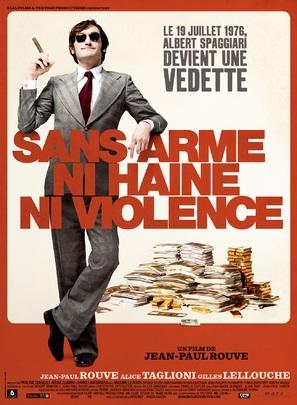 Sans arme, ni haine, ni violence - French poster (thumbnail)