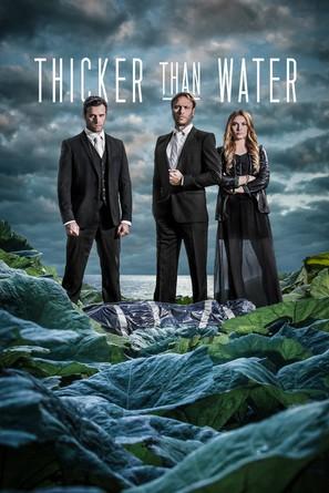"""Tjockare än vatten"" - Swedish Movie Poster (thumbnail)"
