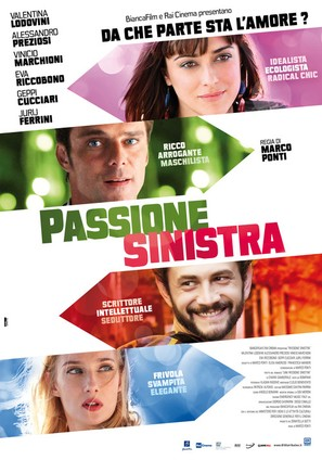 Passione Sinistra - Italian Movie Poster (thumbnail)
