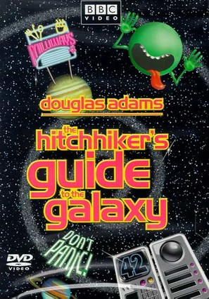"""The Hitch Hikers Guide to the Galaxy"" - DVD movie cover (thumbnail)"