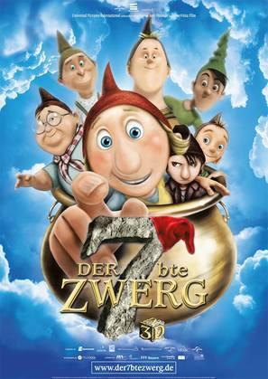 Der 7bte Zwerg - German Movie Poster (thumbnail)
