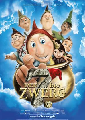 Der 7bte Zwerg - German Movie Poster (thumbnail)