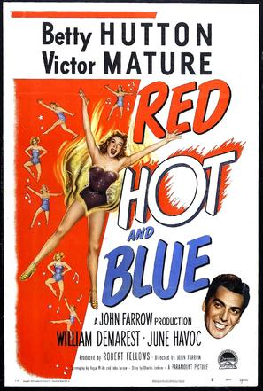 Red, Hot and Blue - Movie Poster (thumbnail)