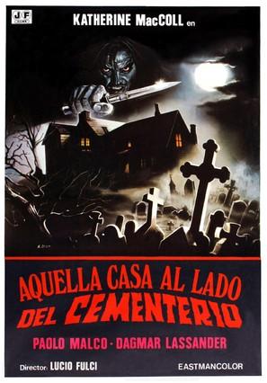 Quella villa accanto al cimitero - Spanish Movie Poster (thumbnail)