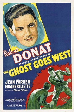 The Ghost Goes West - Movie Poster (thumbnail)