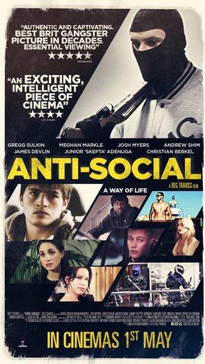 Anti-Social - British Movie Poster (thumbnail)