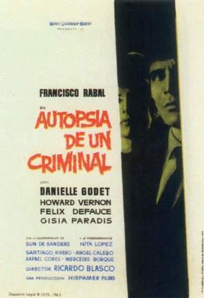Autopsia de un criminal