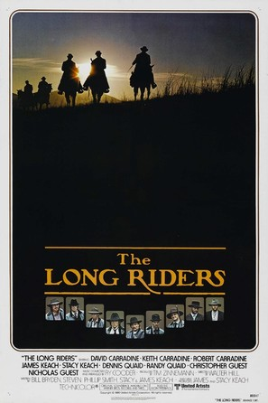 The Long Riders - Movie Poster (thumbnail)
