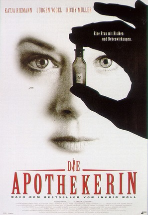 Apothekerin, Die - German Movie Poster (thumbnail)