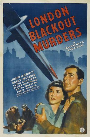 London Blackout Murders - Movie Poster (thumbnail)