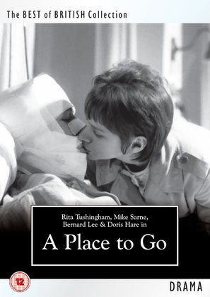 A Place to Go - British DVD movie cover (thumbnail)