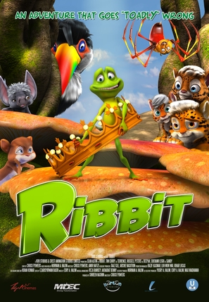 Ribbit - Malaysian Movie Poster (thumbnail)