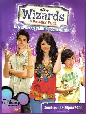 """Wizards of Waverly Place"" - Movie Poster (thumbnail)"