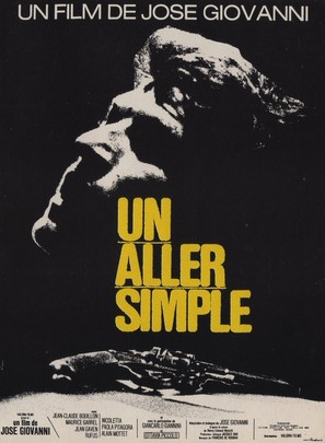 Un aller simple - French Movie Poster (thumbnail)