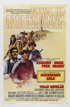Mackenna's Gold - Movie Poster (thumbnail)