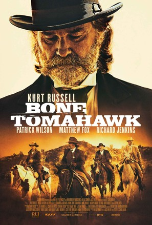 Bone Tomahawk - Movie Poster (thumbnail)