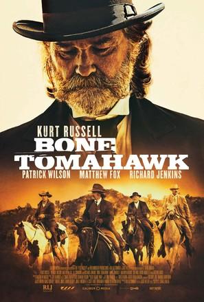 Bone Tomahawk - Movie Poster (thumbnail)