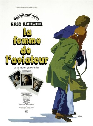 Femme de l'aviateur, La - French Movie Poster (thumbnail)